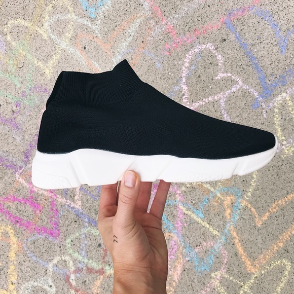 4ca8e1777de Steve Madden - Donovan Sock Sneakers NWT